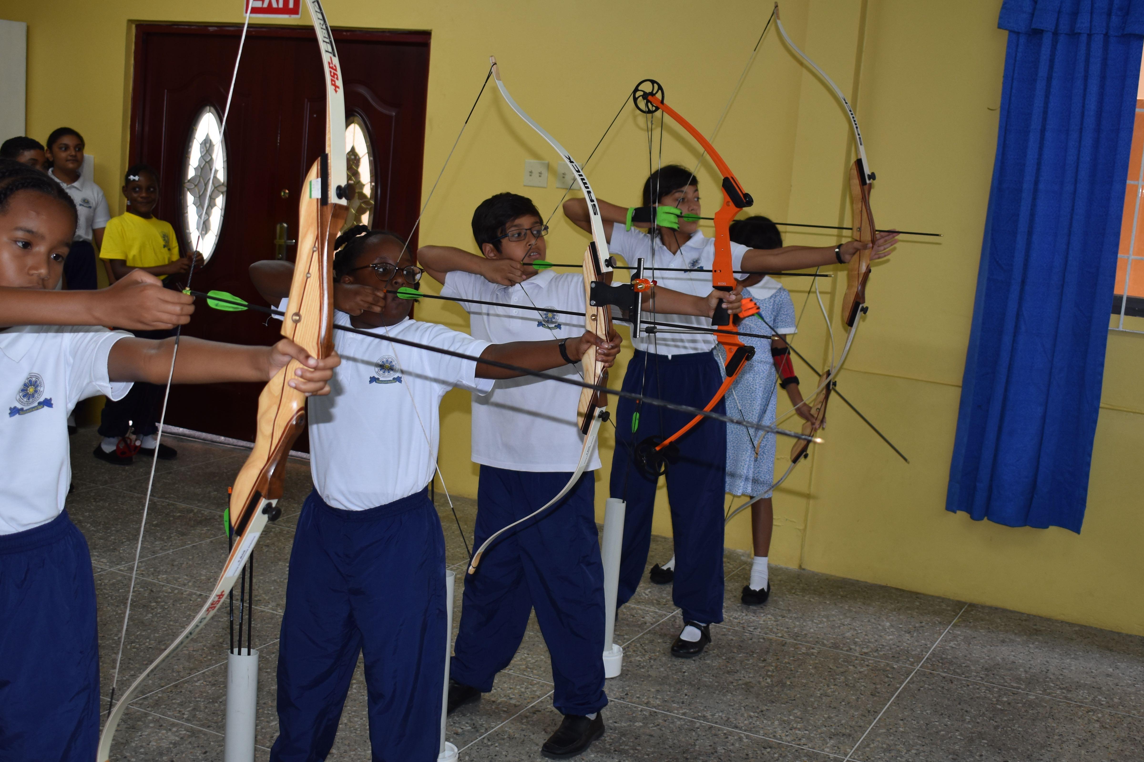 Learn archery trinidad